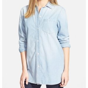 Madewell Chambray Classic Button Down Shirt